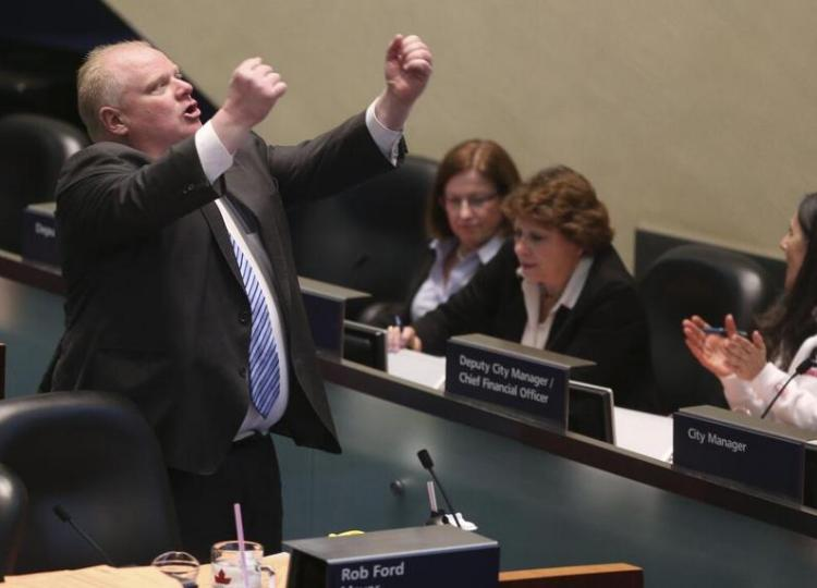 Rob Ford olympique